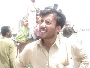Zahid- a resident of Buner