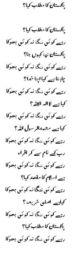pakistan ka matlab kya